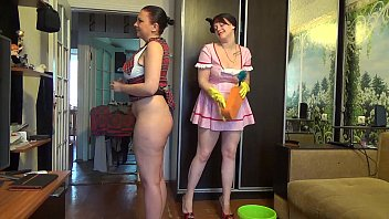 mom penalizing her youthfull stepdaughter for being so.