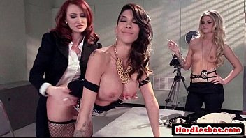 mind-blowing yam-sized-boobed steamy lesbos get poked their succulent.