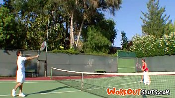 touchy feely tennis - cent flame