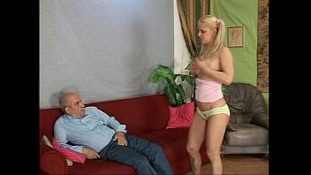 insatiable silver-blonde nubile unclothed before to be plowed.