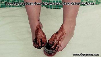 lil' chocolate feet rubdown podophilia liquid