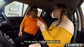 english plumper rails her driving instructors hefty hefty sausage