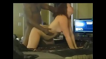 youthfull wifey shagging 2 ebony boys at home.