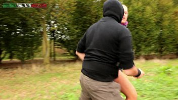 the spycam ep1 - outdoor foot fetish and ass-strangling