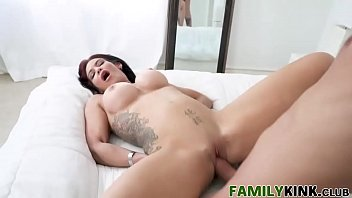 family roleplay fucky-fucky with tattoo step-mother