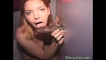 redheaded ultra-cutie taking interracial facial cumshot thru a.