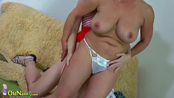 oldnanny enormous-chested plumper damsel and girly-girl.