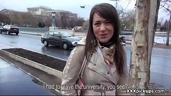 bombshell unexperienced teenage euro bitch penetrate tourist for.