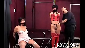 ditry bi-atch gets totally bounded and titillated by.