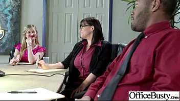 nice office gal with thick knockers get smash.