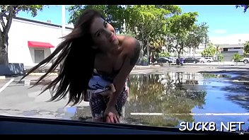 stunner from the street gets seduced and then.