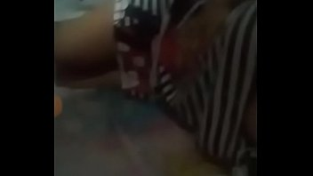 desi chick pressing her tits and caressing her slit
