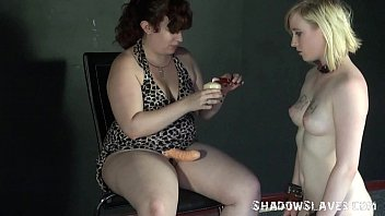 ash-blonde satine spark in weird lesbo indignity and.