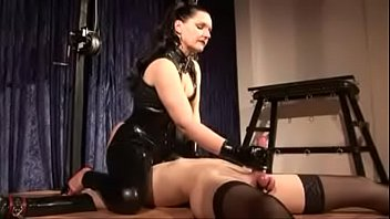 domina silvia instructs sub to deep-gullet chisel and.