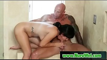 insatiable japanese masseuse gives an oral.
