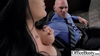 xxx act in office with huge mammories mega-slut.
