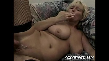 humungous-titted very first-timer cougar gonzo three-way with facial cumshot