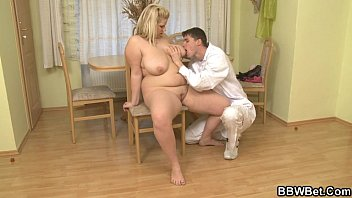 ample-titted light-haired gets doggystyled on the.