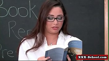 enormous titty schoolteacher gets her funbags pounded in.