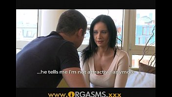 climaxes mature dame with huge hooters is so supah-naughty