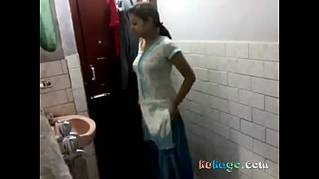 indian gal in shower