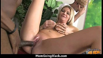 mature cougar takes on thick dark-hued.