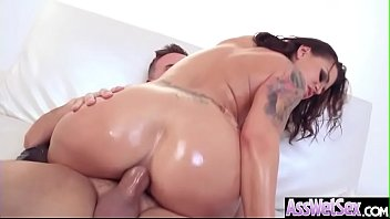 assfucking fuck-a-thon with crazy good-sized bootie nymph eva.