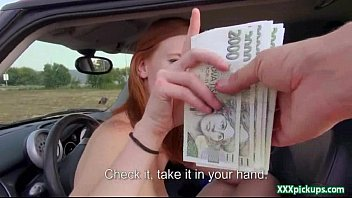 public pickups - promiscuous light-haired czech honey is.