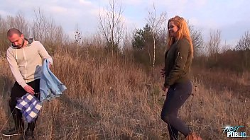 naiuml_ve ash-blonde inserted outdoors and filmed for the.
