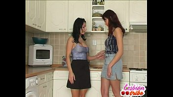 two brunettes slurp vagina and milk cans into.