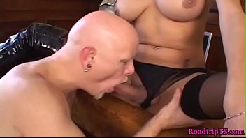 bigtit trannies backside fucking and spilling.