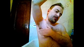kocalos - washing my underarms face and pecs.