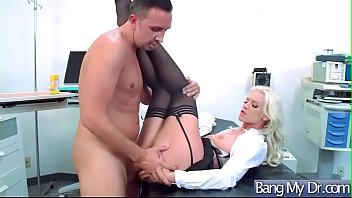 hook-up in cabinet inbetween physician and patient brooke.