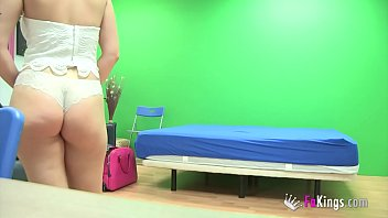 joana drills a jumpy admirer on.