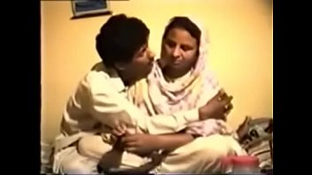 bashful reluctant desi aunty gets pummeled on flick.