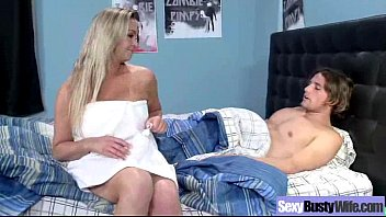 intercourse gauze with buxomy mischievous naughty housewife boinked vid-12