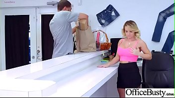 gonzo intercourse in office with ample funbags damsel.