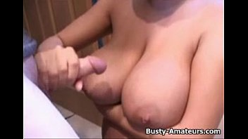 immense-chested fledgling brand hand job her bf after bathroom