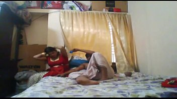 indian hubby amp_ wifey having fuck-fest at home.