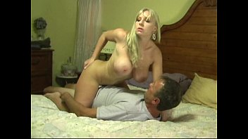 large-chested silver-blonde gets yam-sized inward cash-shot