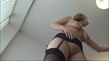 mature english light-haired honey in pantyhose.