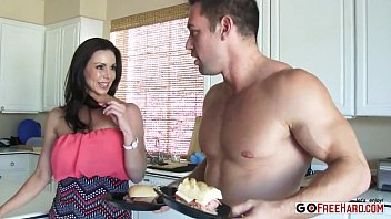 immense-boobed mummy kendra passion plumbing her.