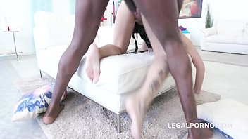 inked hoe candela x gets tough anal foray.