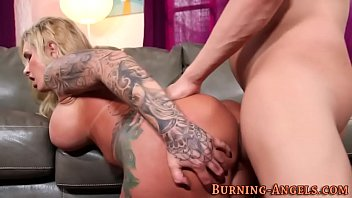 inked cougar rails guy-meat