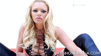 tattoed silver-blonde porn industry starlet briana banks liquidates.