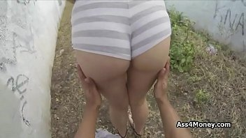 perky nubile flashes mammories and blows my wood outdoors
