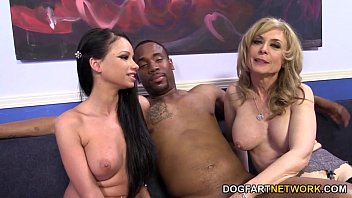 raven bay and nina hartley instruct a stud.
