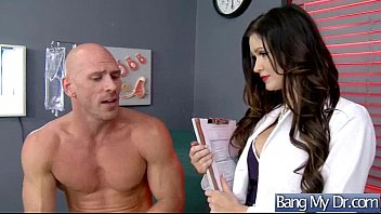 ultra-kinky supah-hot patient kendall karson drill with physician.