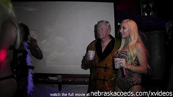 horny wild soiree hosted by ron jeremy nude.