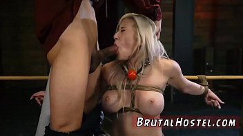 restrict bondage couch and gimp female munches vulva.
